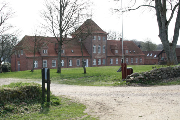 hald hovedgård historie